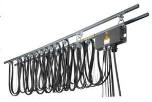 خطوط برق رسانی کابلی-ریلی